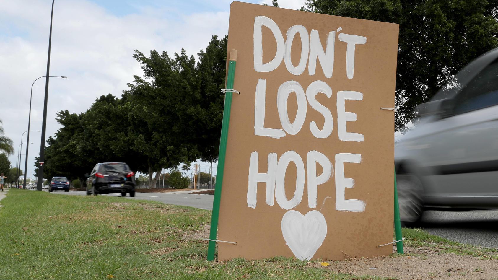 Die Hoffnung nicht zu verlieren, ist wichtig in der Corona-Krise. Gute Nachrichten helfen dabei.