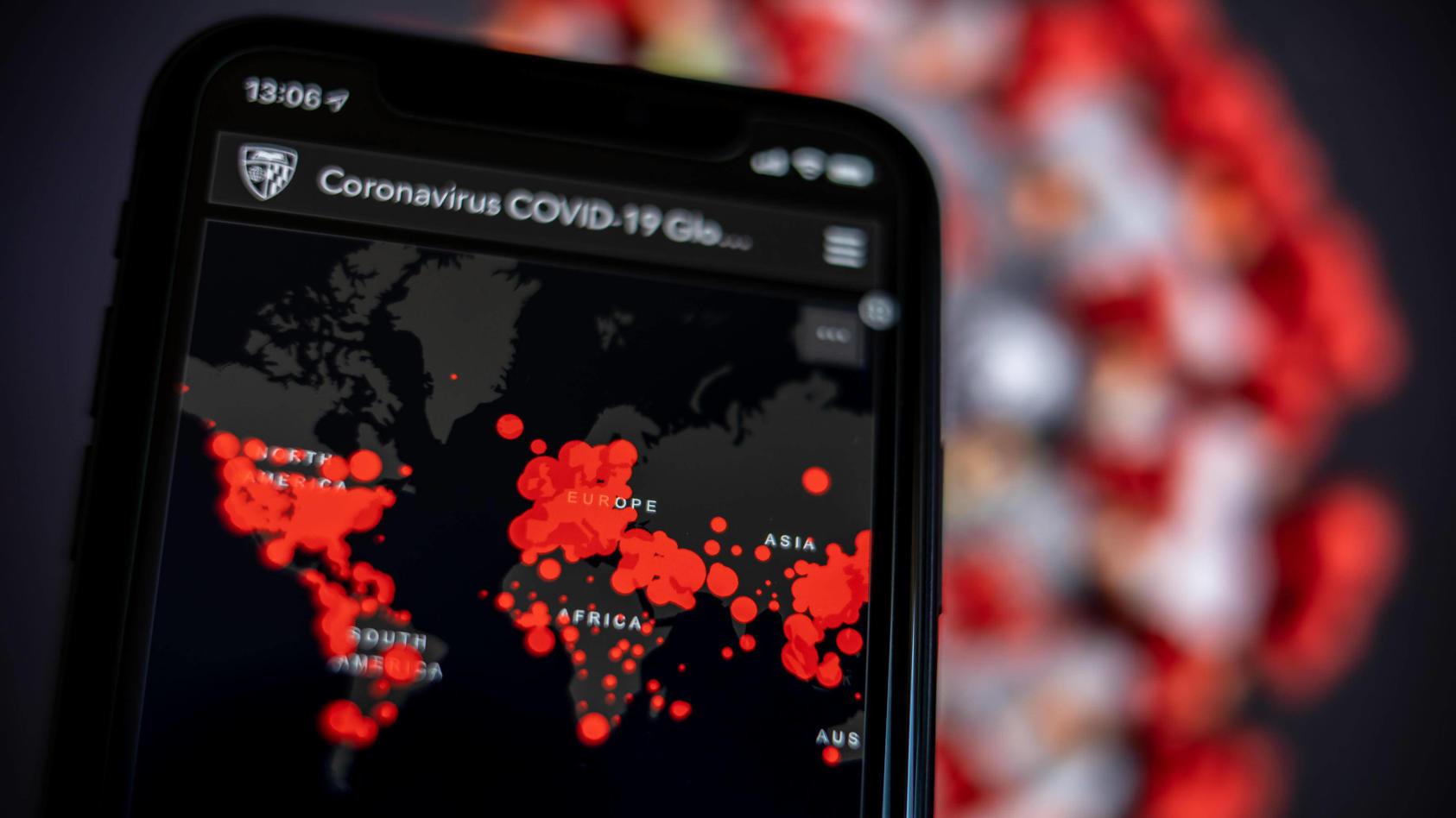 Weltweit sind mittlerweile über eine Million Menschen am Coronavirus erkrankt.