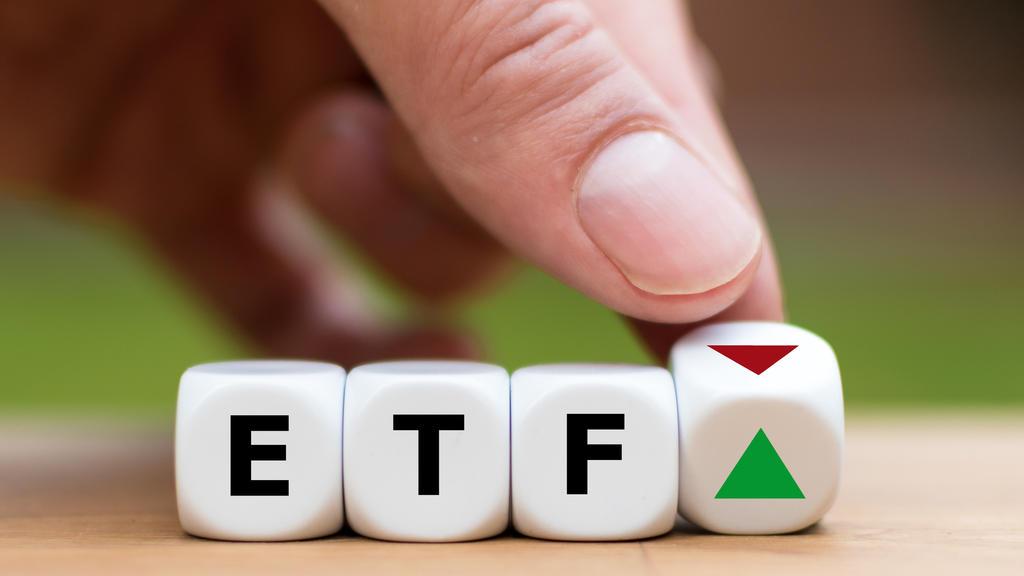 ETF (Exchange Traded Fund) steigt.