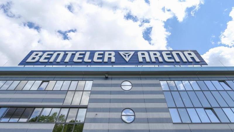 Das Heimstadion der Mannschaft aus Paderborn. Foto: Friso Gentsch/dpa/Archivbild