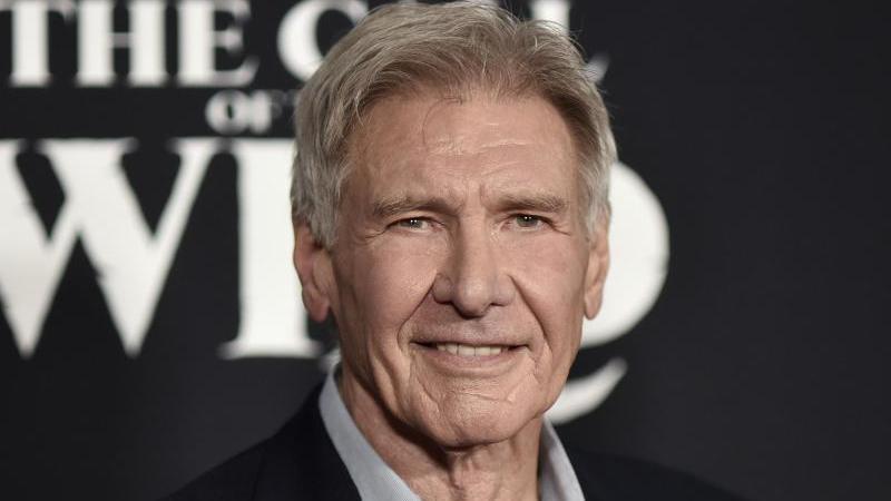 "Die ""Indiana Jones""-Fortsetzung Harrison Ford wurde wegen der Corona-Krise verschoben. Foto: Richard Shotwell/Invision/AP/dpa"