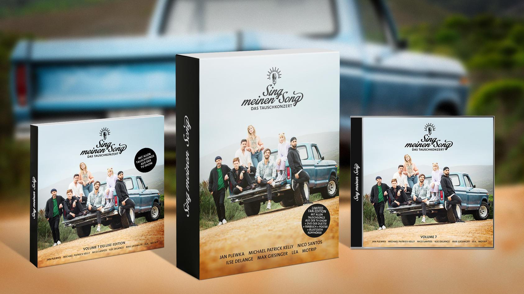 """Das Album """"Sing meinen Song - Das Tauschkonzert Vol. 7"""" ist ab sofort im Handel erhältlich."""