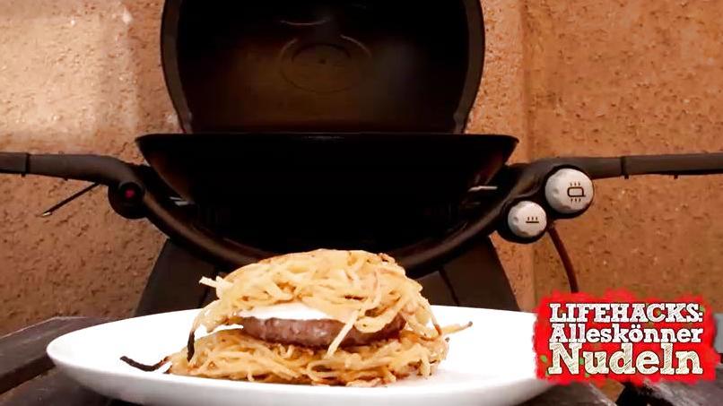Rezept für Nudel-Burger