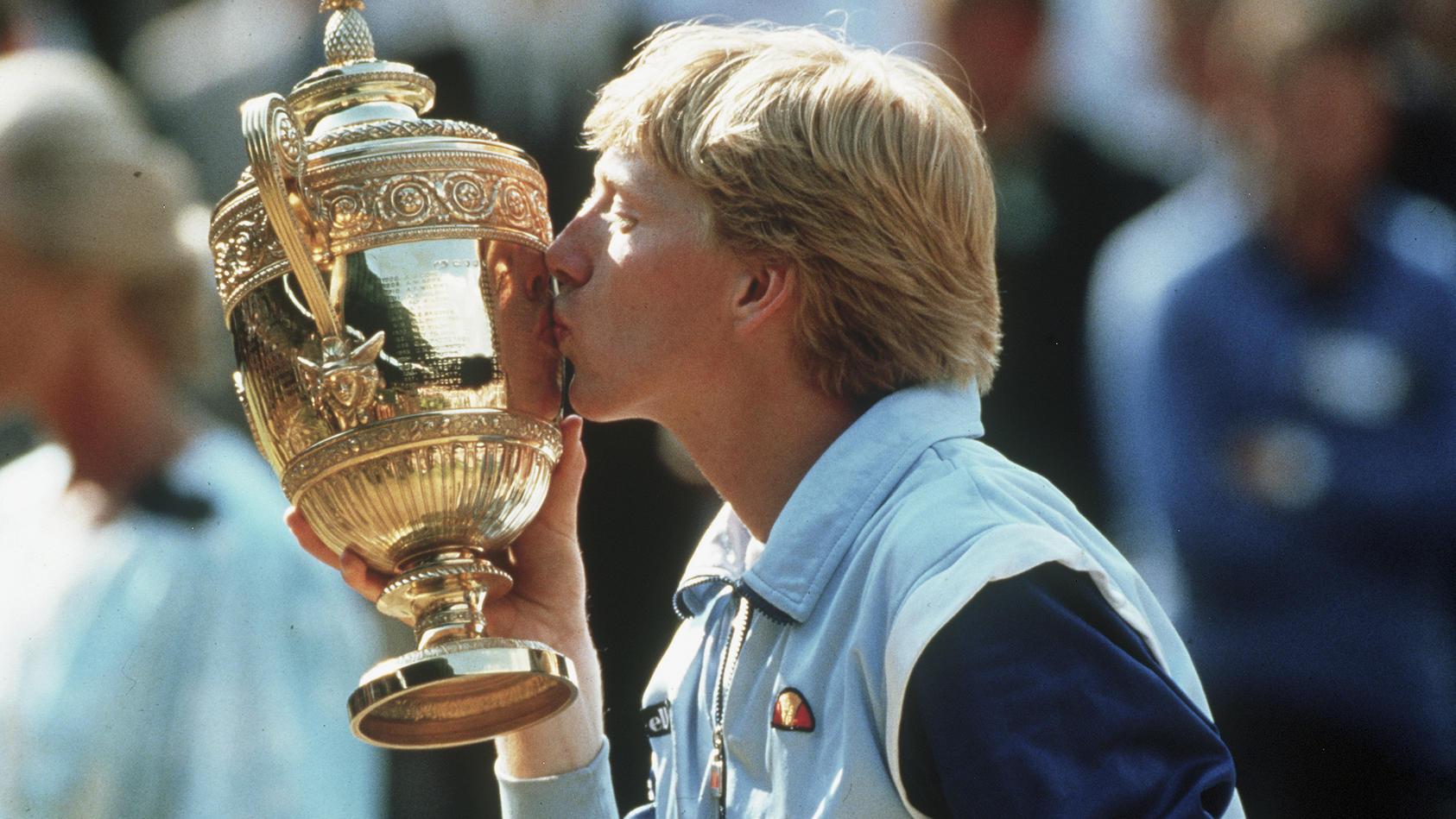1985 wurde Boris Becker mit 17 Jahren der jüngste Wimbledon-Sieger aller Zeiten.
