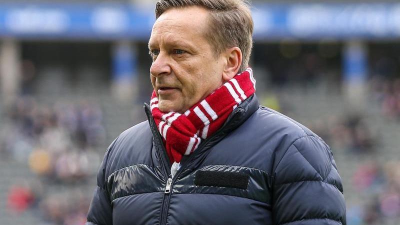 Horst Heldt, Geschäftsführer des 1.FC Köln. Foto: Andreas Gora/dpa/Archivbild