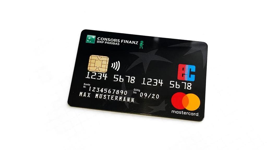 Die Kreditkarte, die der Angeklagte genutzt haben soll