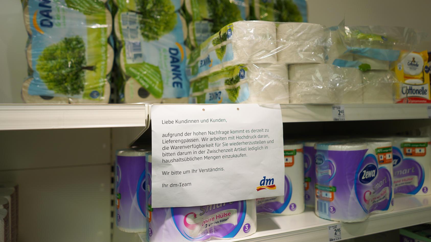Lieferengpässe bei Toilettenpapier - woran liegt's wirklich?