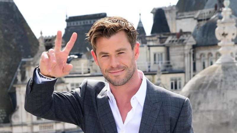 Schauspieler Chris Hemsworth ist Action-Profi. Foto: Ian West/PA Wire/dpa