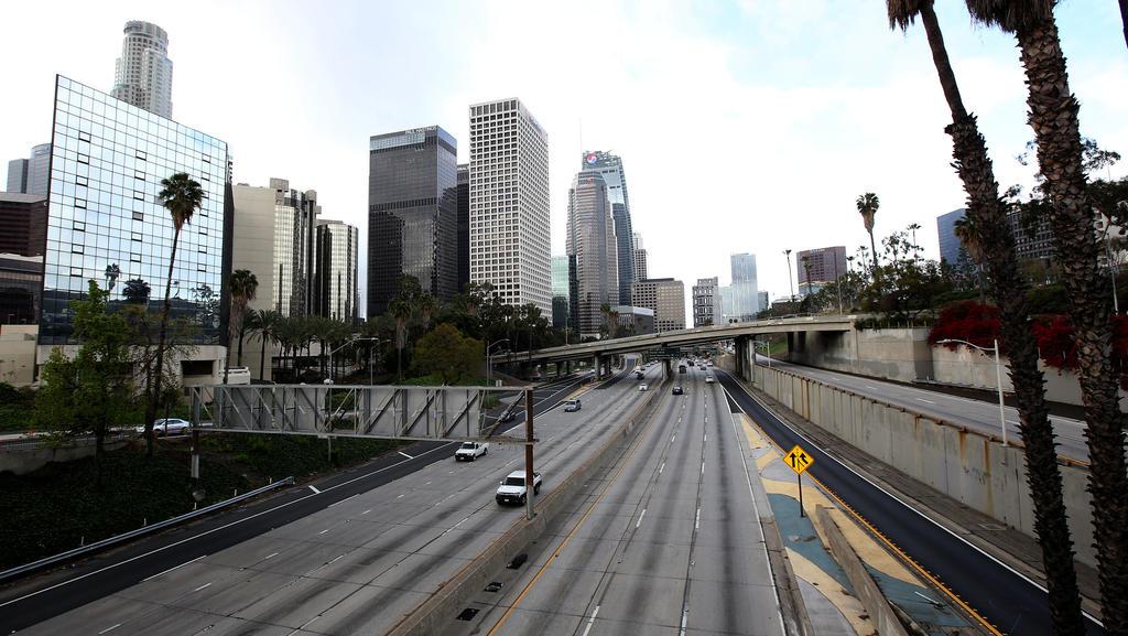 Selbst während der Rush Hours sind die Straßen beinahe leer