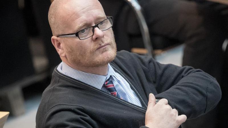 Bernd Schlömer sitzt im Abgeordnetenhaus. Foto: picture alliance/dpa/Archivbild