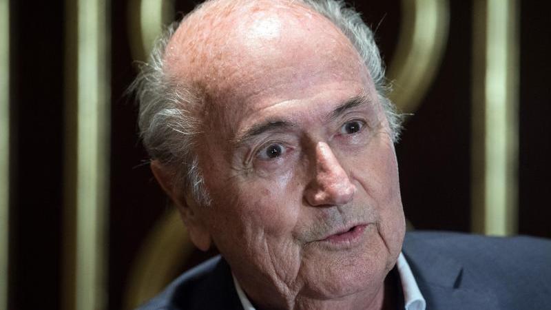 Ehemaliger FIFA-Präsident:Joseph Blatter. Foto: Federico Gambarini/dpa
