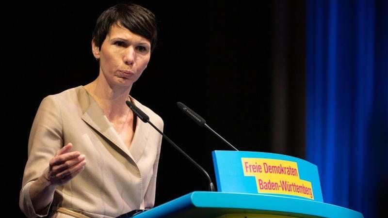 Judith Skudelny (FDP). Foto: Sebastian Gollnow/dpa/Archivbild