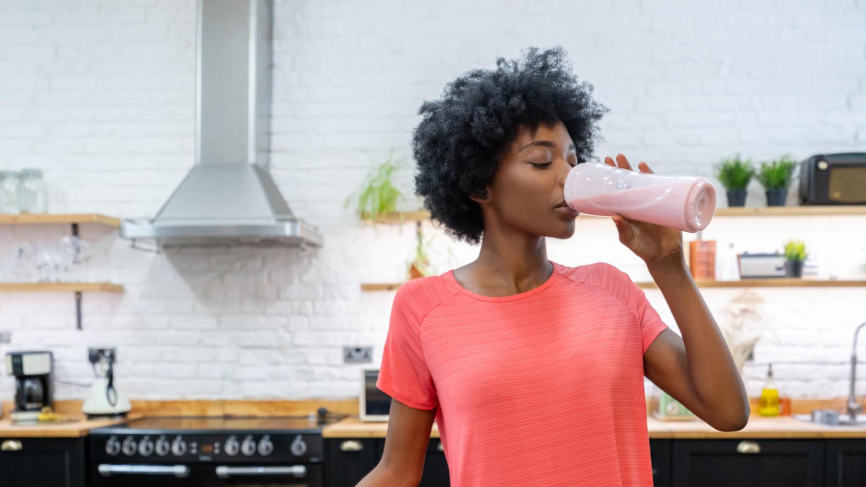 Schnell einen Shake trinken anstatt zu kochen?