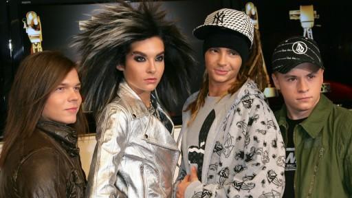 Bill Kaulitz, Tom Kaulitz, Georg Listing und Gustav Schäfer wurden durch Tokio Hotel bekannt.