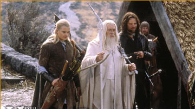"""Die Kultfilm-Reihe """"Herr der Ringe"""" startete im Jahr 2001"""