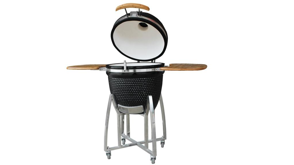 Der Keramik-Grill von Fireking ist mit seinen 600 Euro eine günstige Alternative zum Big Green Egg.