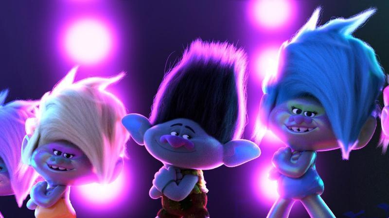 """Da ist Musik drin:""""Trolls World Tour"""" von Regisseur Walt Dohrn. Foto: 2020 Dreamworks/Universal Pictures/dpa"""