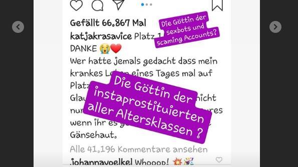 Oliver Pochers Instagram-Diss