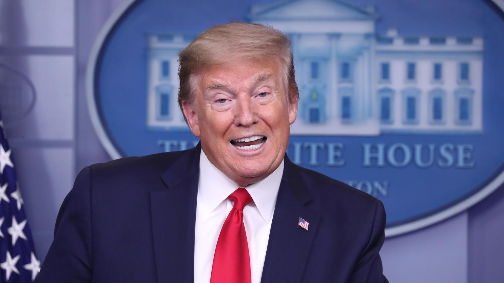 Donald Trump: Einfach mal Desinfektionsmittel spritzen