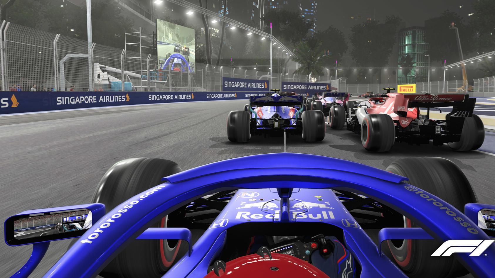 Piloten-Perspektive beim Formel-1-Rennen: Da kommt Spannung auf