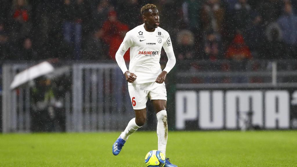Junior Salomon Sambia Montpellier FOOTBALL : Rennes vs Montpellier - Ligue 1 - 08/03/2020 GwendolineLeGoff/Panoramic PUBLICATIONxNOTxINxFRAxITAxBEL