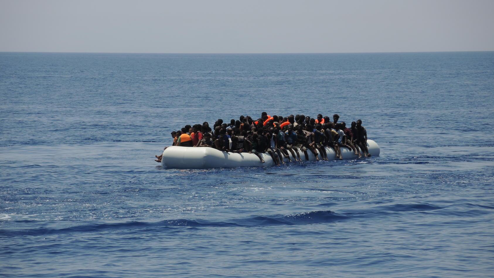 Rettungseinsätze im Mittelmeer