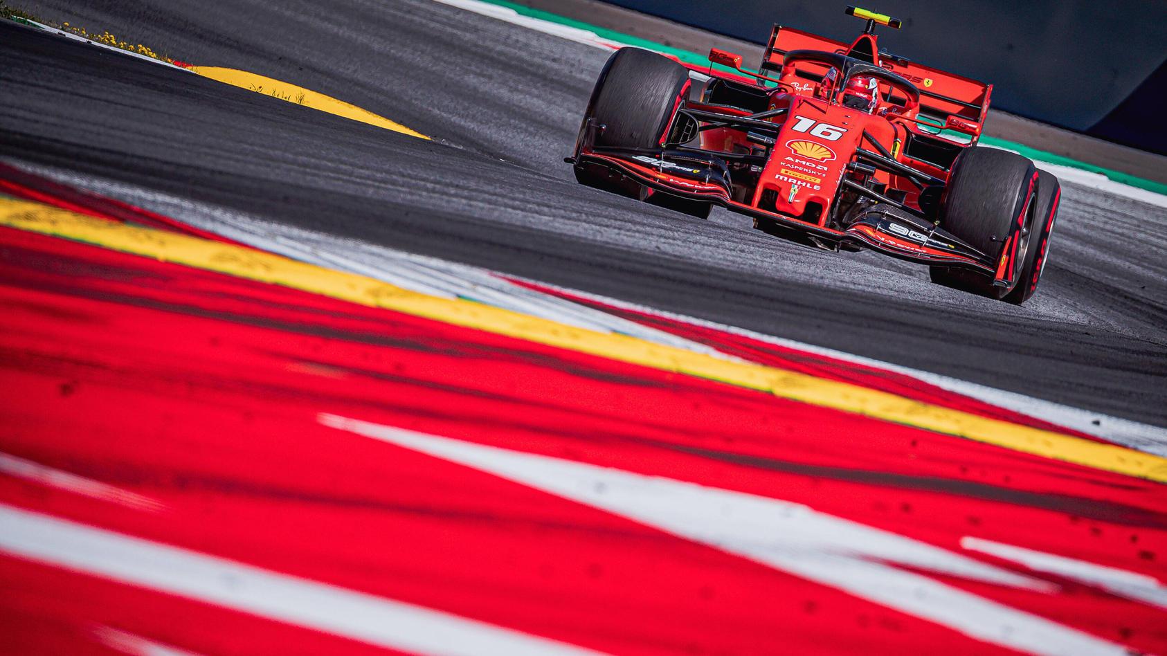 30.06.2019, Red Bull Ring, Spielberg, AUT, FIA, Formel 1, Grosser Preis von Österreich, Rennen, im Bild Charles Leclerc
