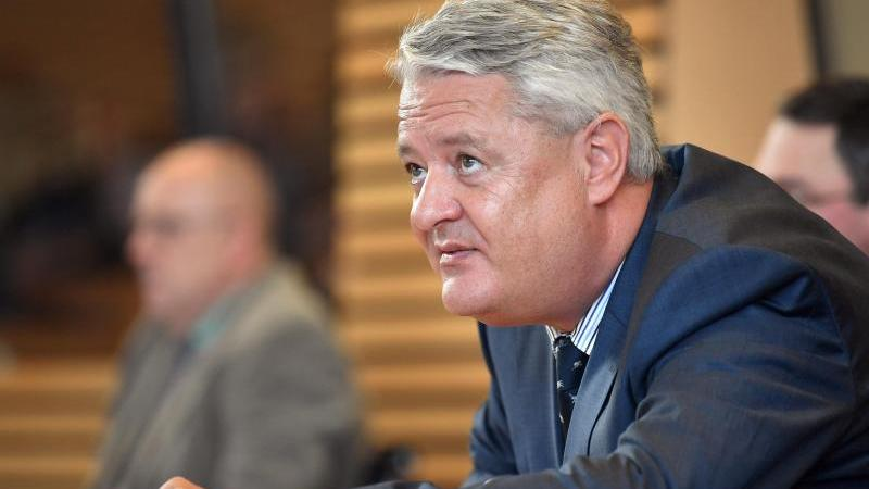 Lutz Hasse sitzt im Thüringer Landtag. Foto: Martin Schutt/dpa-Zentralbild/dpa/Archivbild