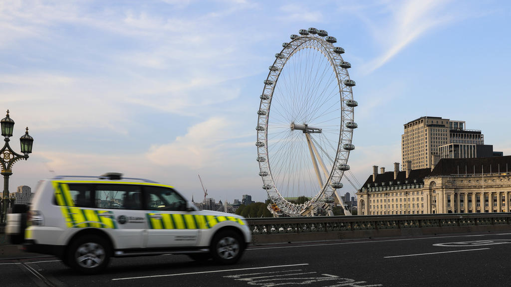 April 23, 2020, London, England, United Kingdom: London Ronny Best's father works for St. Thomas' Hospital in London on the frontline of the fight against COVID 19. He joined paramedics and emergency services during a weekly tribute to frontline work