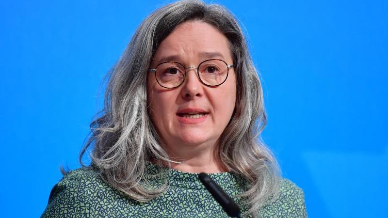 Heike Werner (Die Linke), Gesundheitsministerin von Thüringen. Foto: Martin Schutt/dpa-Zentralbild/dpa/Archivbild