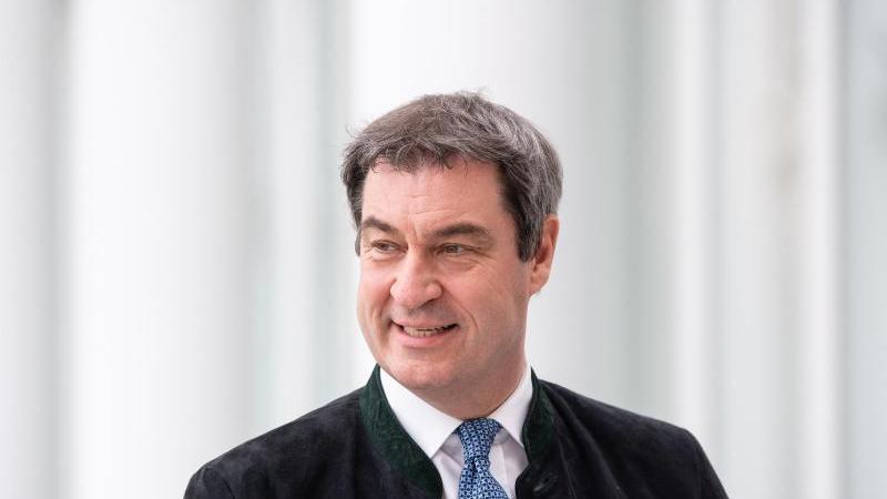Markus Söder (CSU), Ministerpräsident von Bayern. Foto: Sven Hoppe/dpa/Archivbild