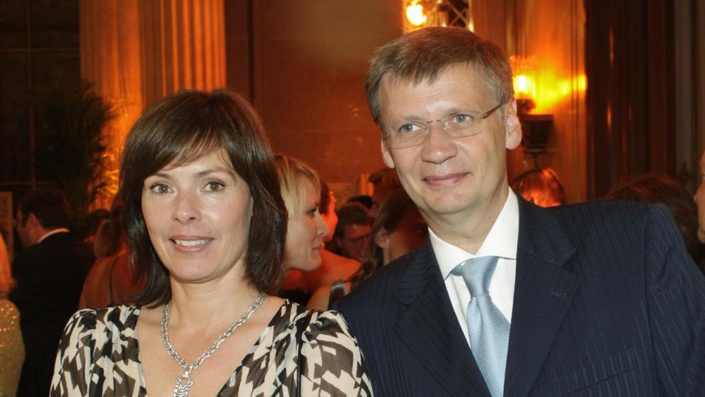 Thea und Günther Jauch im Jahr 2007.