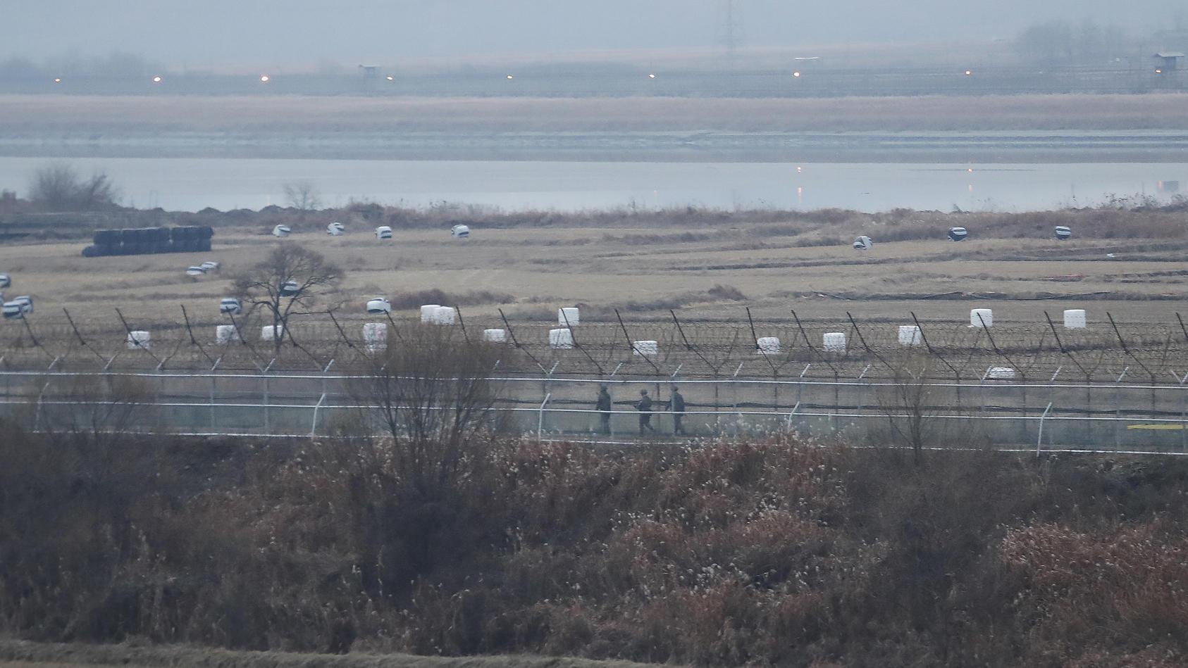 In der Grenzregion zwischen Nordkorea und Südkorea ist es laut einem Bericht zu einem Schusswechsel gekommen.
