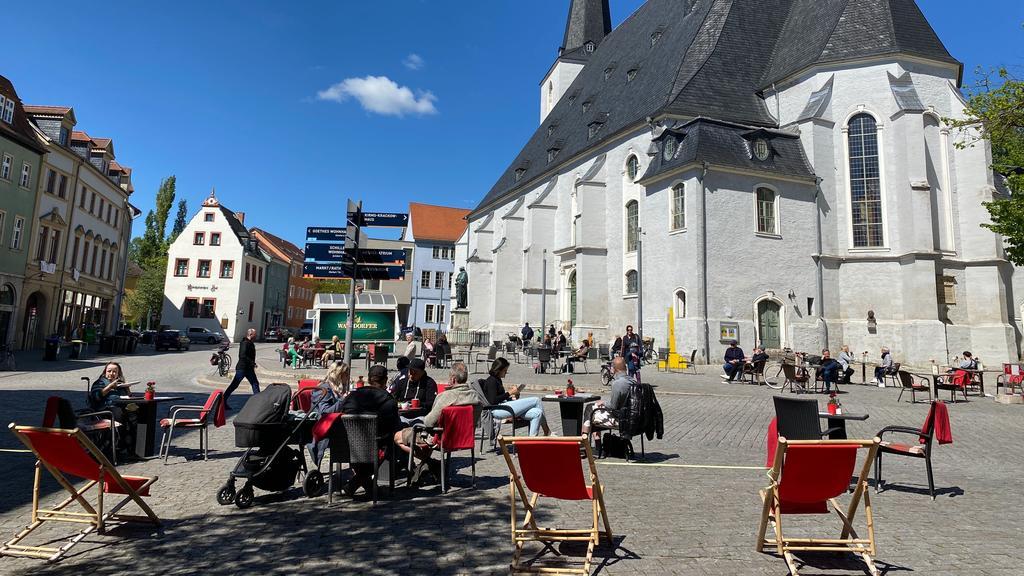 Innenstadt von Weimar