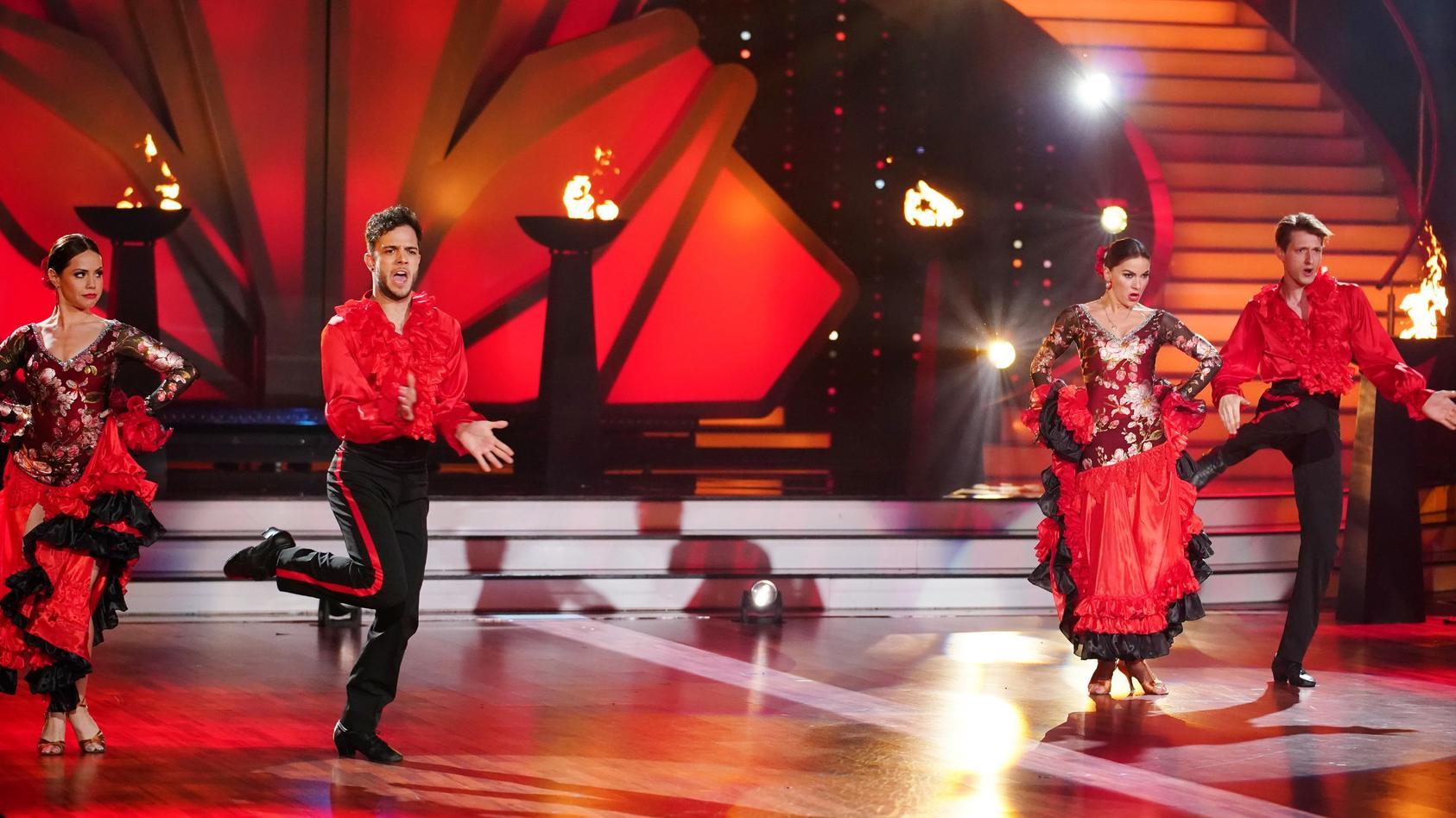"""Im """"Let's Dance""""-Viertelfinale müssen die Tanzpaare wieder zweimal aufs Parkett."""