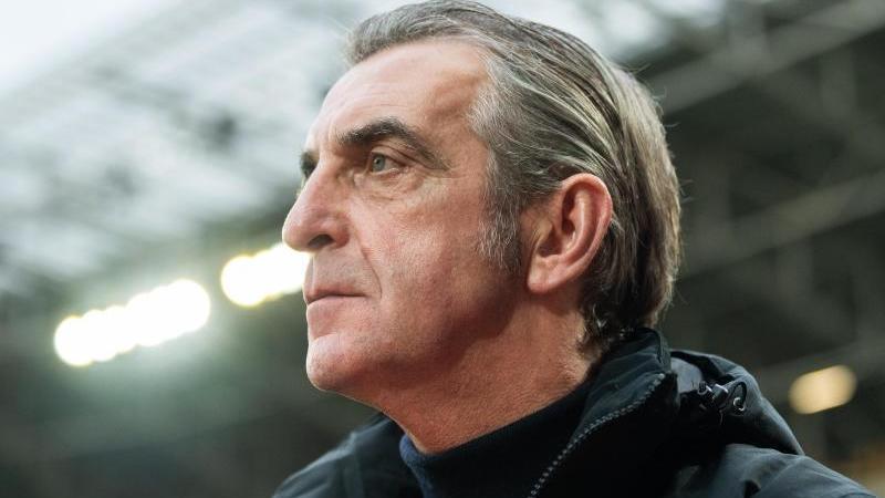 Dynamos Sportgeschäftsführer Ralf Minge. Foto: Robert Michael/dpa-Zentralbild/dpa/Archivbild