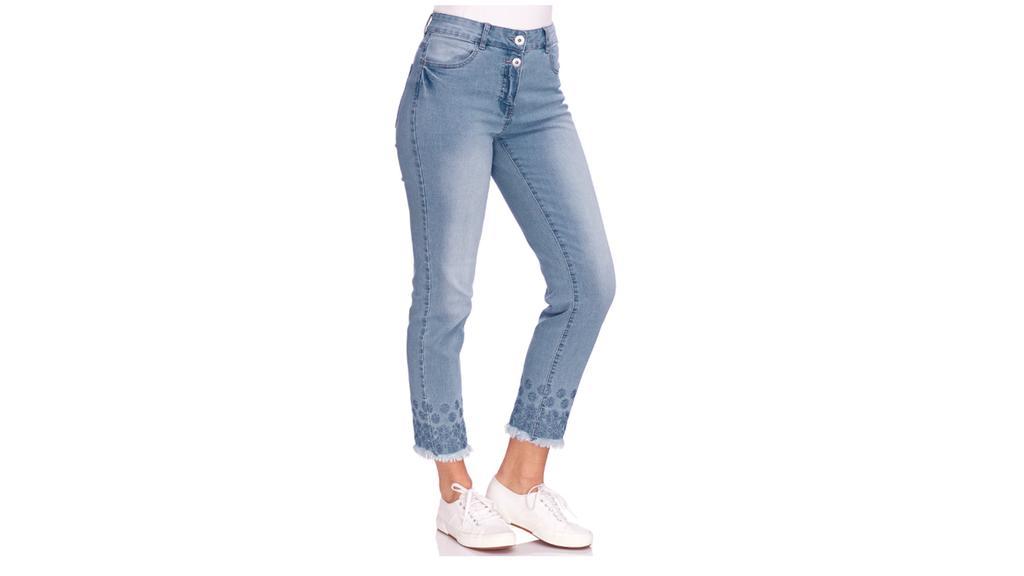 Straight Jeans von Gina Benotti.
