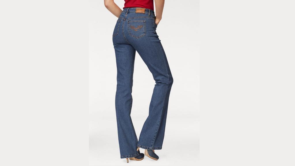 Bootcut-Jeans von Arizona.