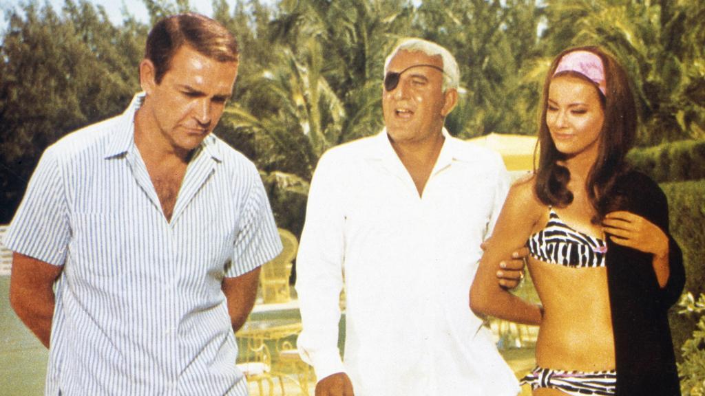"James Bond trifft auf Emilio Largo in ""Feuerball"""