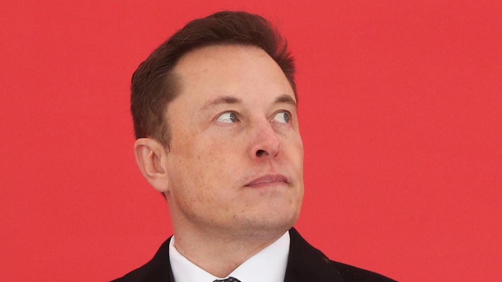 190107 -- SHANGHAI, Jan. 7, 2019 Xinhua -- Tesla CEO Elon Musk attends the groundbreaking ceremony of Tesla Shanghai Gigafactory in Shanghai, east China, Jan. 7, 2019. U.S. electric carmaker Tesla Inc. on Monday broke ground on its Shanghai factory,