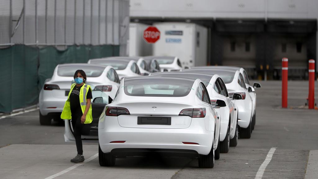 Tesla-Werk in Fremont