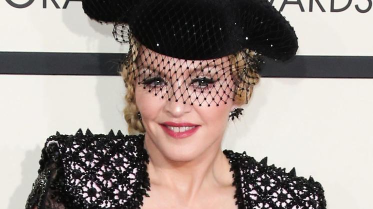 Style kommt für Madonna immer an erster Stelle.