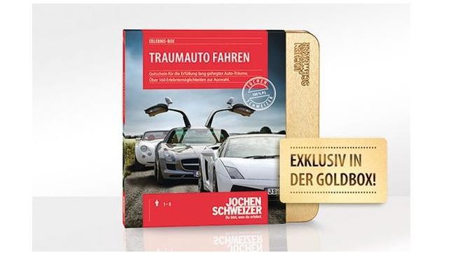 Traumauto-Gutschein von Jochen Schweizer