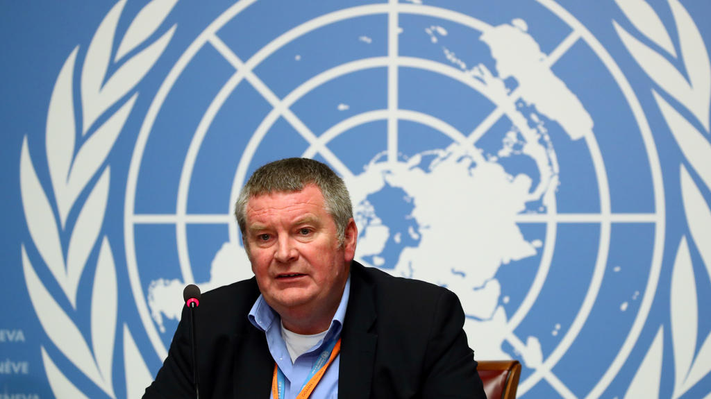 FILE PHOTO: Mike Ryan, Executive Director of the World Health Organization (WHO), attends a news conference at the United Nations in Geneva, Switzerland May 3, 2019. REUTERS / Denis Balibouse / File Photo
