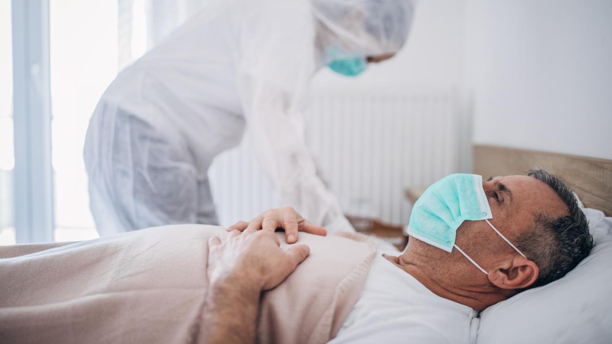 Laut einer Studie des UKE Hamburg ist ein niedriger Testosteronspiegel ein Risikofaktor bei männlichen Corona-Patienten