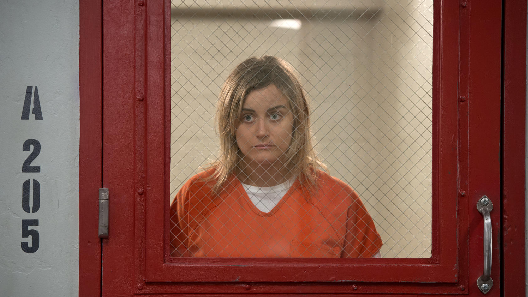"""Taylor Schilling in  """"Orange is the New Black"""""""