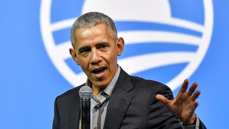 Ex-US-Präsident Barack Obama Ende 2019 während einer Veranstaltung der Obama Foundation. Foto: Shafiq Hashim/BERNAMA/dpa