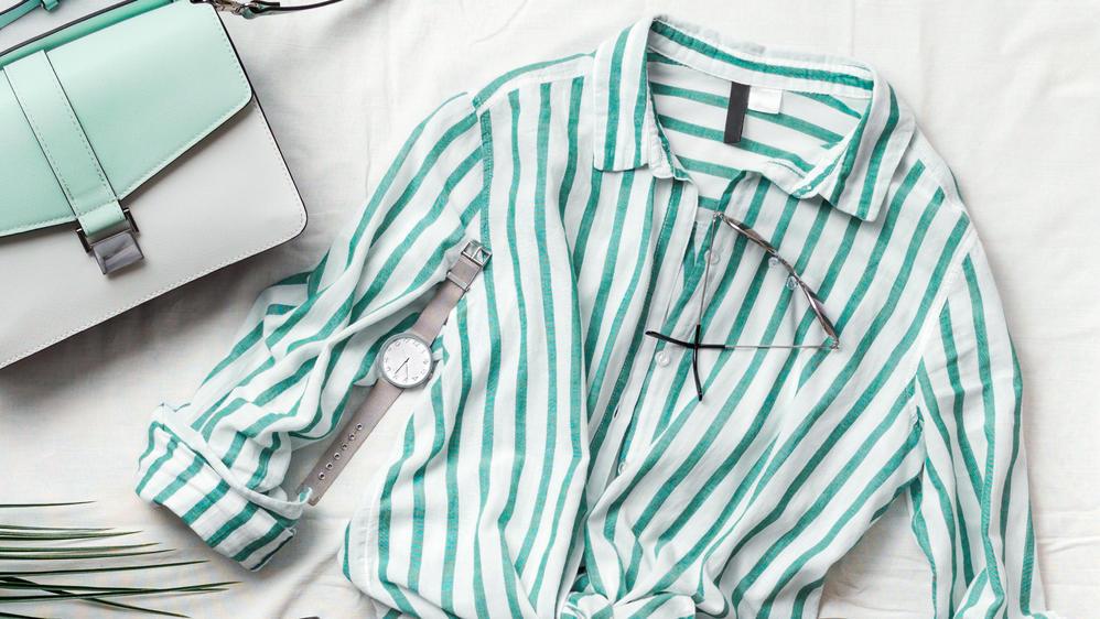 Locker, leicht und luftig sollte eine gute Bluse für den Frühling sein