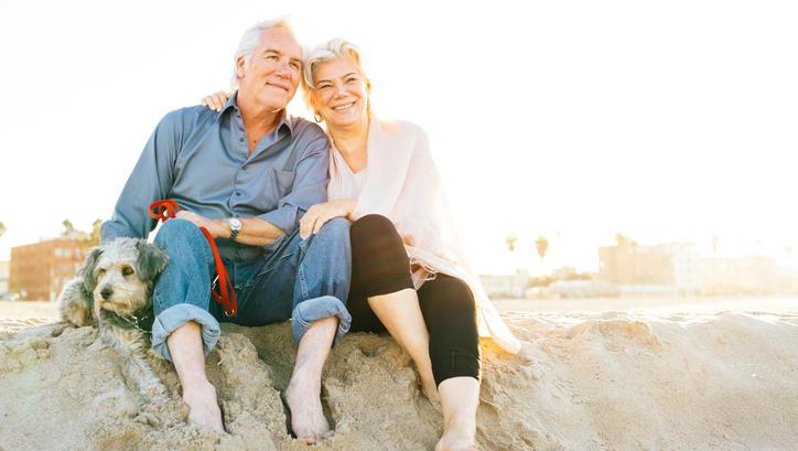 Reisen und die Seele baumeln lassen. Viele Arbeitnehmer möchten so früh wie möglich in den Ruhestand.