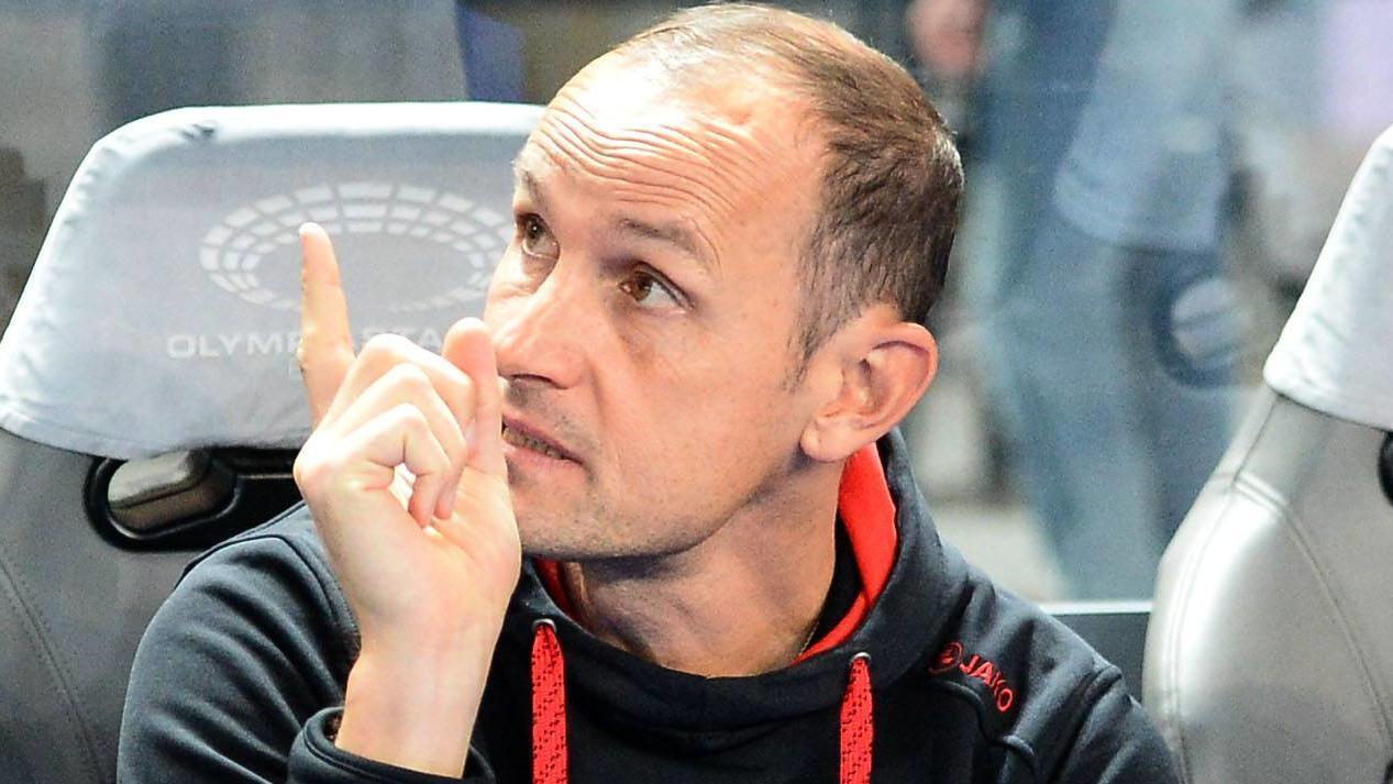 Fussball Herren 1 Bundesliga Saison 2017 18 5 Spieltag Hertha BSC Bayer 04 Leverkusen Trai